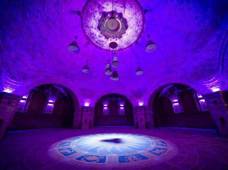 Bock Chapel, circular cellar