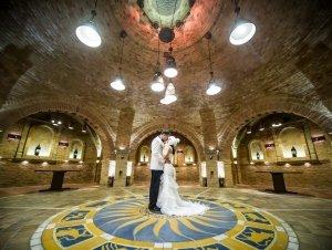 Esküvő a körpincében