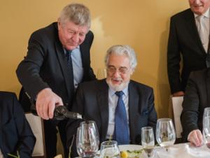 Placido Domingo és Bock József